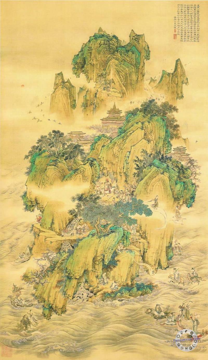 Antik çin mitolojisi beş ilâhi dağ