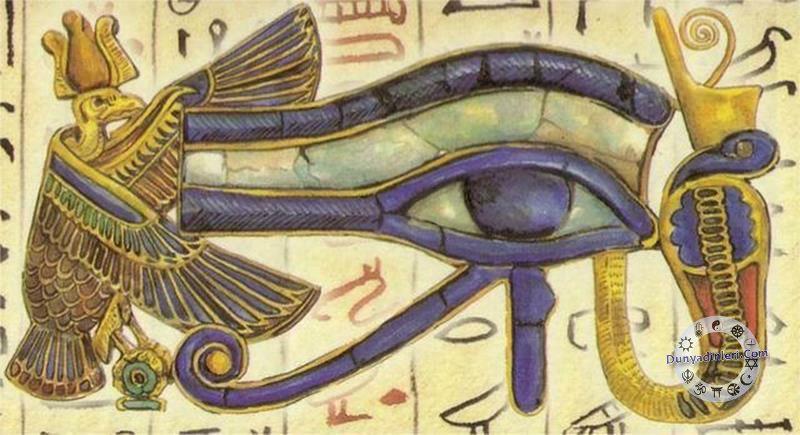 Antik Mısırda Horusun Gözü Mitolojisi Ve Mitolojide Göz