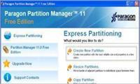 Paragon Partition Manager Express Free Edition 11.0 İndir