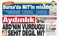 Bursa'da MİT'in misafiri