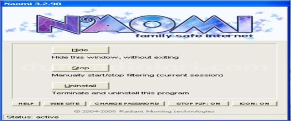 Naomi Download free - Website filter for parental control