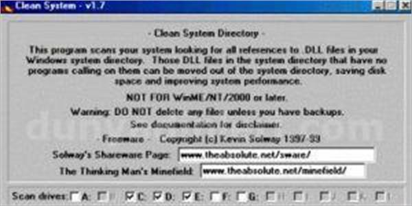 Clean System Directory 1.7 İndir
